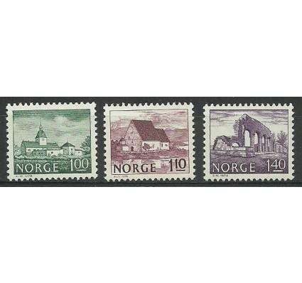 Znaczek Norwegia 1978 Mi 766-768 Czyste **