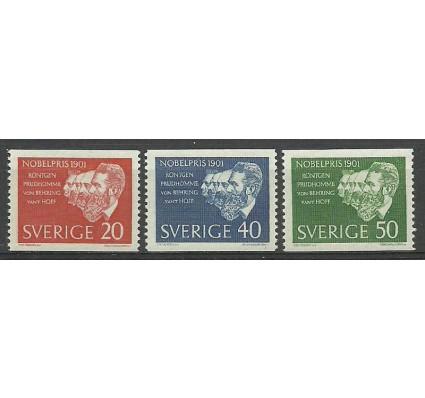 Znaczek Szwecja 1961 Mi 482-484 Czyste **