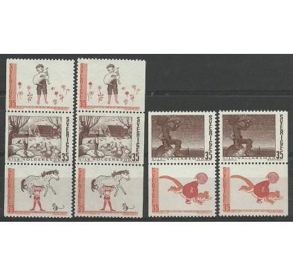 Znaczek Szwecja 1969 Mi 657-661DlDr Czyste **