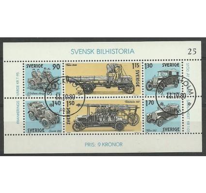 Znaczek Szwecja 1980 Mi bl 8 Stemplowane