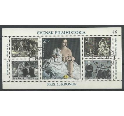 Znaczek Szwecja 1981 Mi bl 9 Stemplowane