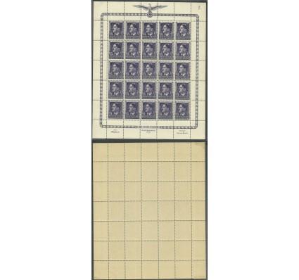 Znaczek Generalna Gubernia / GG 1944 Mi ark 119 Fi ark 119 Czyste **