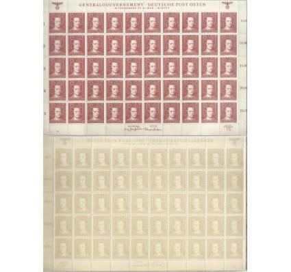 Znaczek Generalna Gubernia / GG 1944 Mi ark 121 Fi ark 121 Czyste **
