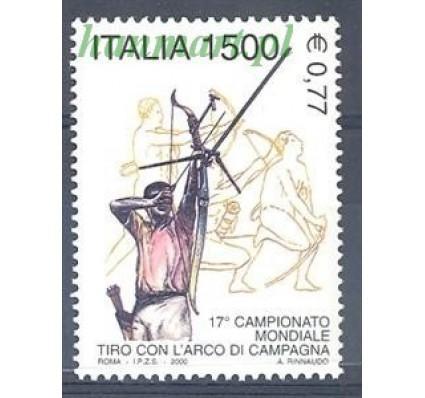 Znaczek Włochy 2000 Mi 2711 Czyste **