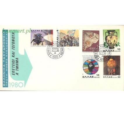 Znaczek Grecja 1980 Mi 1415-1420 FDC