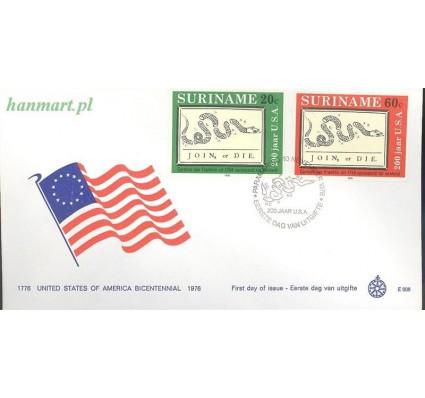 Znaczek Surinam 1976 FDC