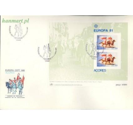 Znaczek Azory 1981 Mi bl 2 FDC