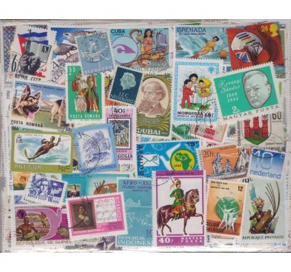 Znaczek Pakiet filatelistyczny ŚWIAT 500 znaczków