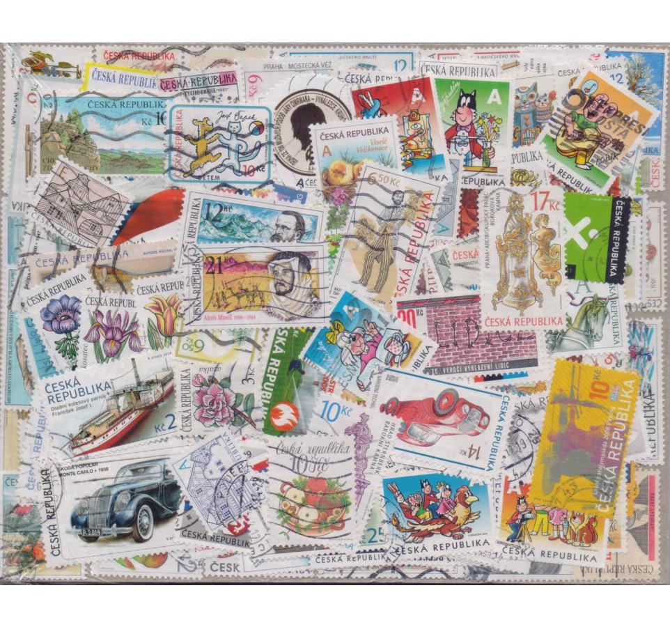 Pakiet filatelistyczny CZESKA REPUBLIKA 300 znaczków