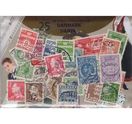 Znaczek Pakiet filatelistyczny DANIA 25 znaczków