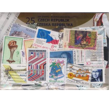Znaczek Pakiet filatelistyczny CZESKA REPUBLIKA 25 znaczków