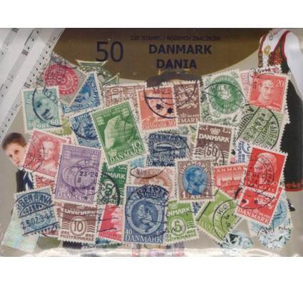 Znaczek Pakiet filatelistyczny DANIA 50 znaczków