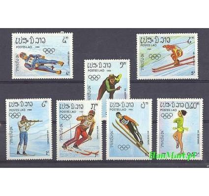 Laos 1984 Mi 698-704 Czyste **