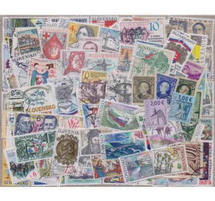 Znaczek Pakiet filatelistyczny SŁOWACJA 300 znaczków