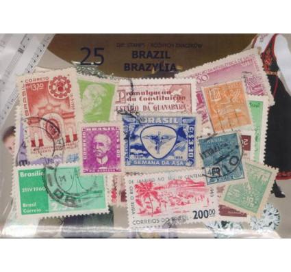 Znaczek Pakiet filatelistyczny BRAZYLIA 25 znaczków