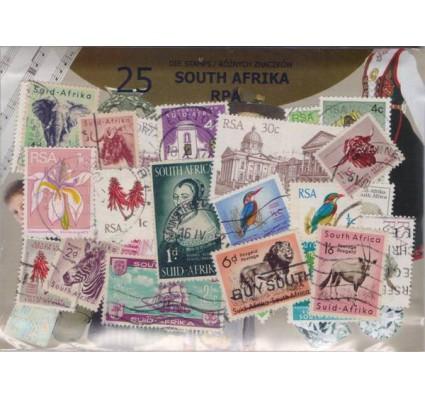 Znaczek Pakiet filatelistyczny RPA 25 znaczków