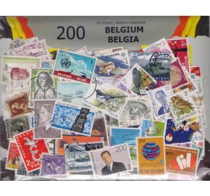 Znaczek Pakiet filatelistyczny BELGIA 200 znaczków