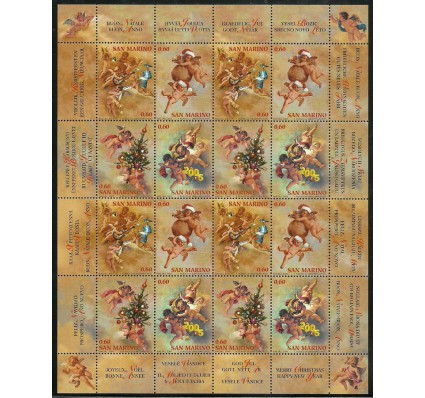 Znaczek San Marino 2004 Mi ark 2178-2181 Czyste **
