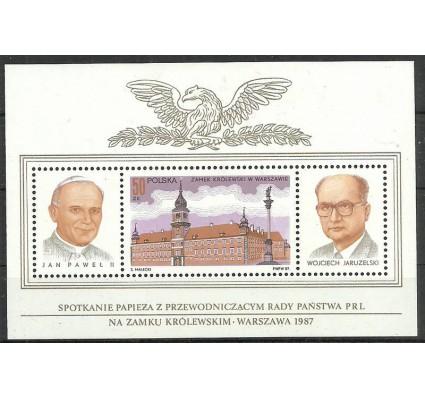 Znaczek Polska 1987 Mi bl 102 Fi bl 132 Czyste **