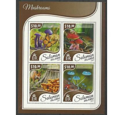 Znaczek Wyspy Salomona 2017 Mi ark 4637-4640 Czyste **