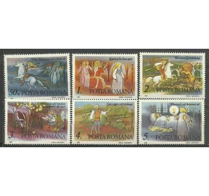 Znaczek Rumunia 1987 Mi 4359-4364 Czyste **