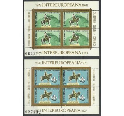 Znaczek Rumunia 1978 Mi bl 151-152 Czyste **