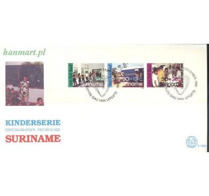 Znaczek Surinam 1986 Mi bl 44 FDC
