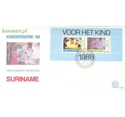 Surinam 1988 Mi bl 49 FDC
