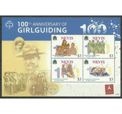 Nevis 2010 Mi ark 2443-2446 Czyste **