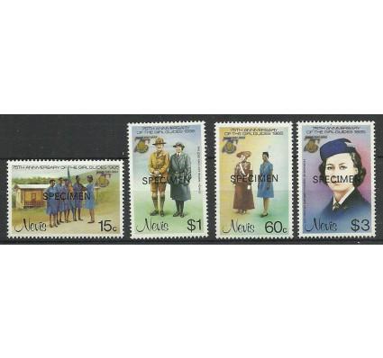 Znaczek Nevis 1985 Mi spe 276-279 Czyste **