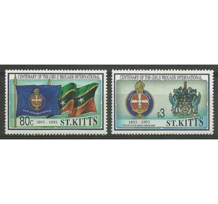 Saint Kitts 1993 Mi 359-360 Czyste **