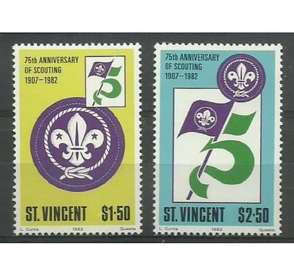 Znaczek St. Vincent 1982 Mi 637-638 Czyste **
