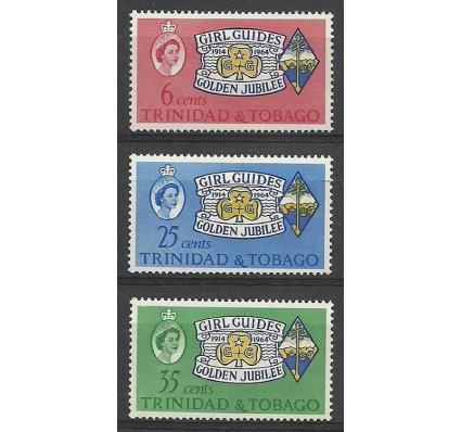 Znaczek Trynidad i Tobago 1964 Mi 197-199 Czyste **