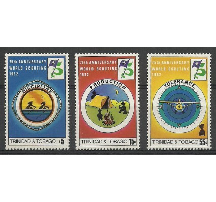 Trynidad i Tobago 1982 Mi 448-450 Czyste **