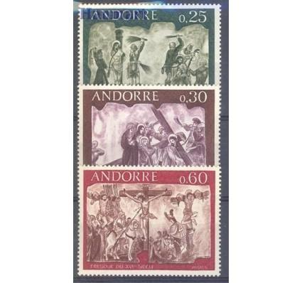 Znaczek Andora Francuska 1968 Mi 211-213 Czyste **