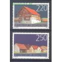 Liechtenstein 2004 Mi 1355-1356 Czyste **