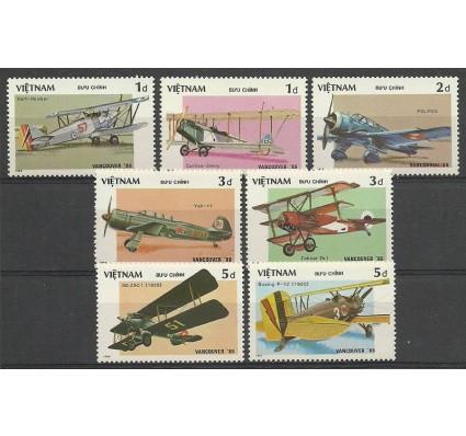 Znaczek Wietnam 1986 Mi 1720-1726 Czyste **