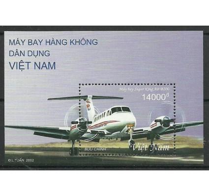 Znaczek Wietnam 2002 Mi bl 135 Czyste **