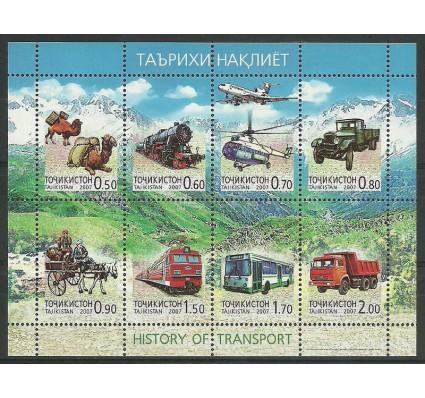 Znaczek Tadżykistan 2007 Mi ark 476-483 Czyste **