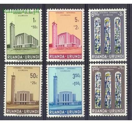 Znaczek Ruanda - Urundi 1961 Mi 183-188 Czyste **