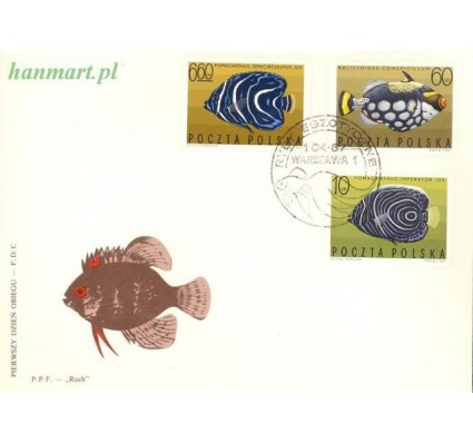 Znaczek Polska 1967 Mi 1748-1756 Fi 1600-1608 FDC