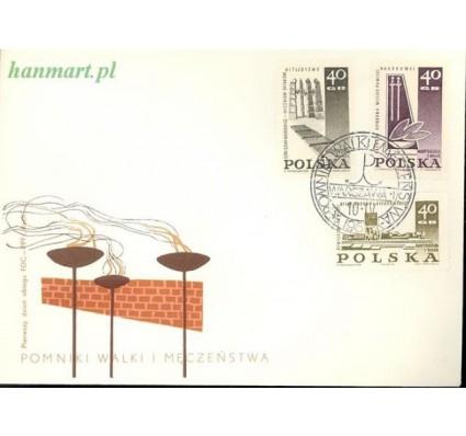 Znaczek Polska 1967 Mi 1757-1759 Fi 1609-1611 FDC