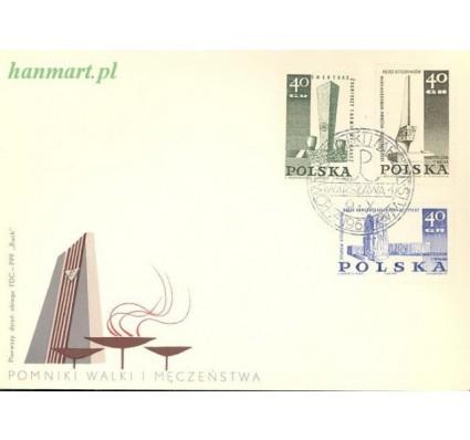 Znaczek Polska 1967 Mi 1790-1792 Fi 1647-1649 FDC