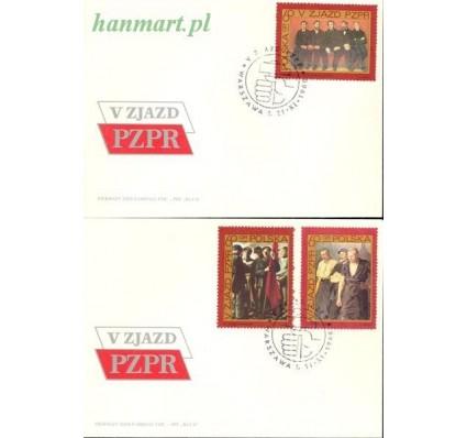 Znaczek Polska 1968 Mi 1882-1884 Fi 1735-1737 FDC