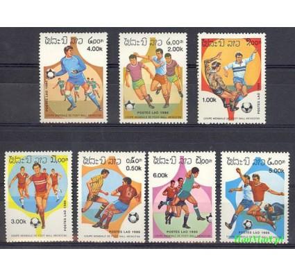 Znaczek Laos 1986 Mi 882-888 Czyste **