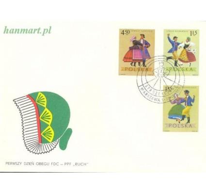 Znaczek Polska 1969 Mi 1951-1958 Fi 1804-1811 FDC