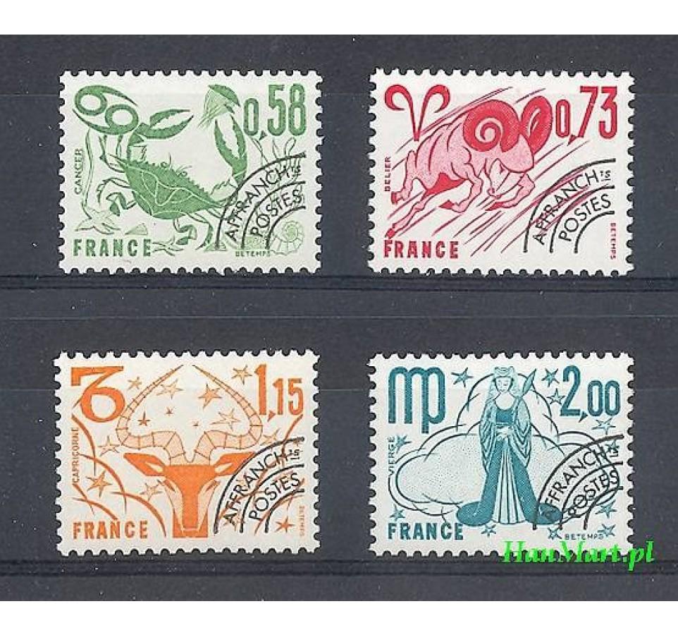 Francja 1978 Mi 2063-2066 Czyste **