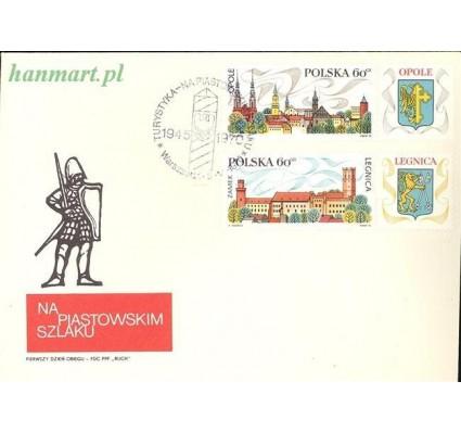 Znaczek Polska 1970 Mi 2001-2005 Fi 1852-1856 FDC