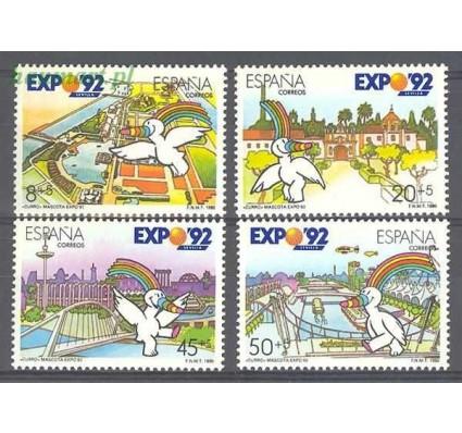 Znaczek Hiszpania 1990 Mi 2929-2932 Czyste **