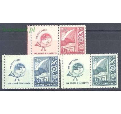 Znaczek Czechosłowacja 1947 Czyste **
